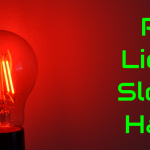 red lightbulb sleep hack