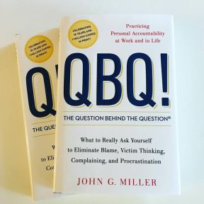 The Cover of QBQ! The Question Behind the Question