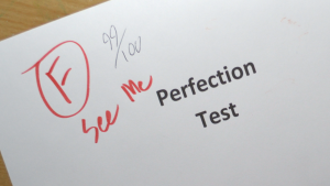 99% test score is a fail