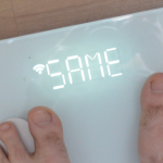 "scale saying ""same"""